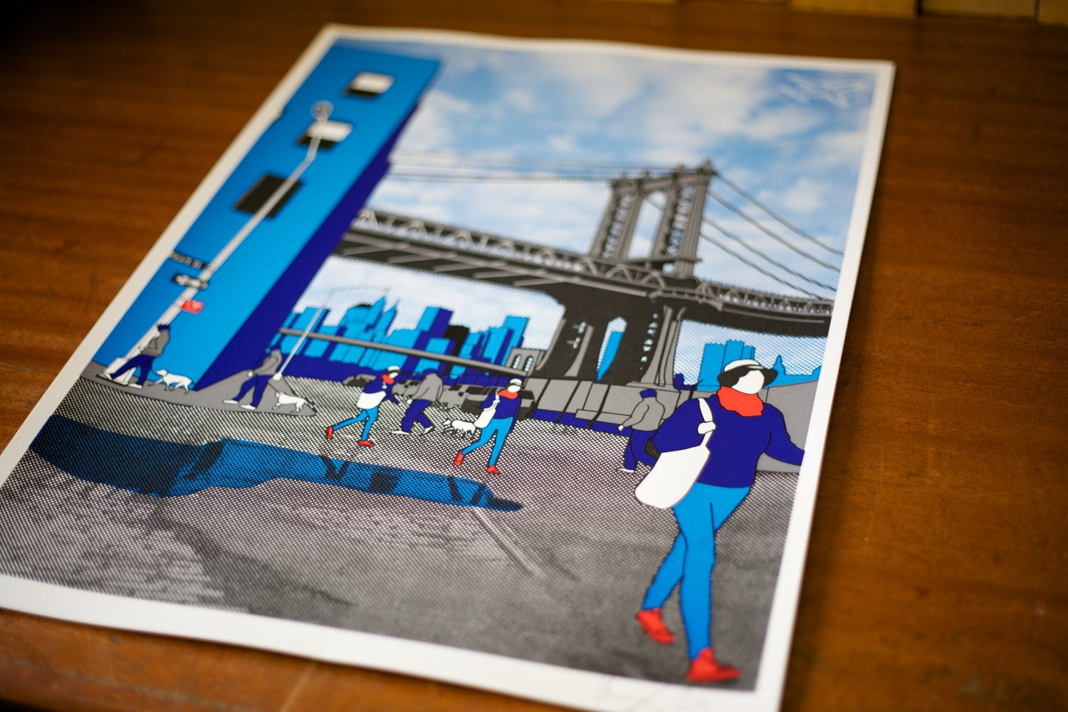 Image of Brooklyn Screen print