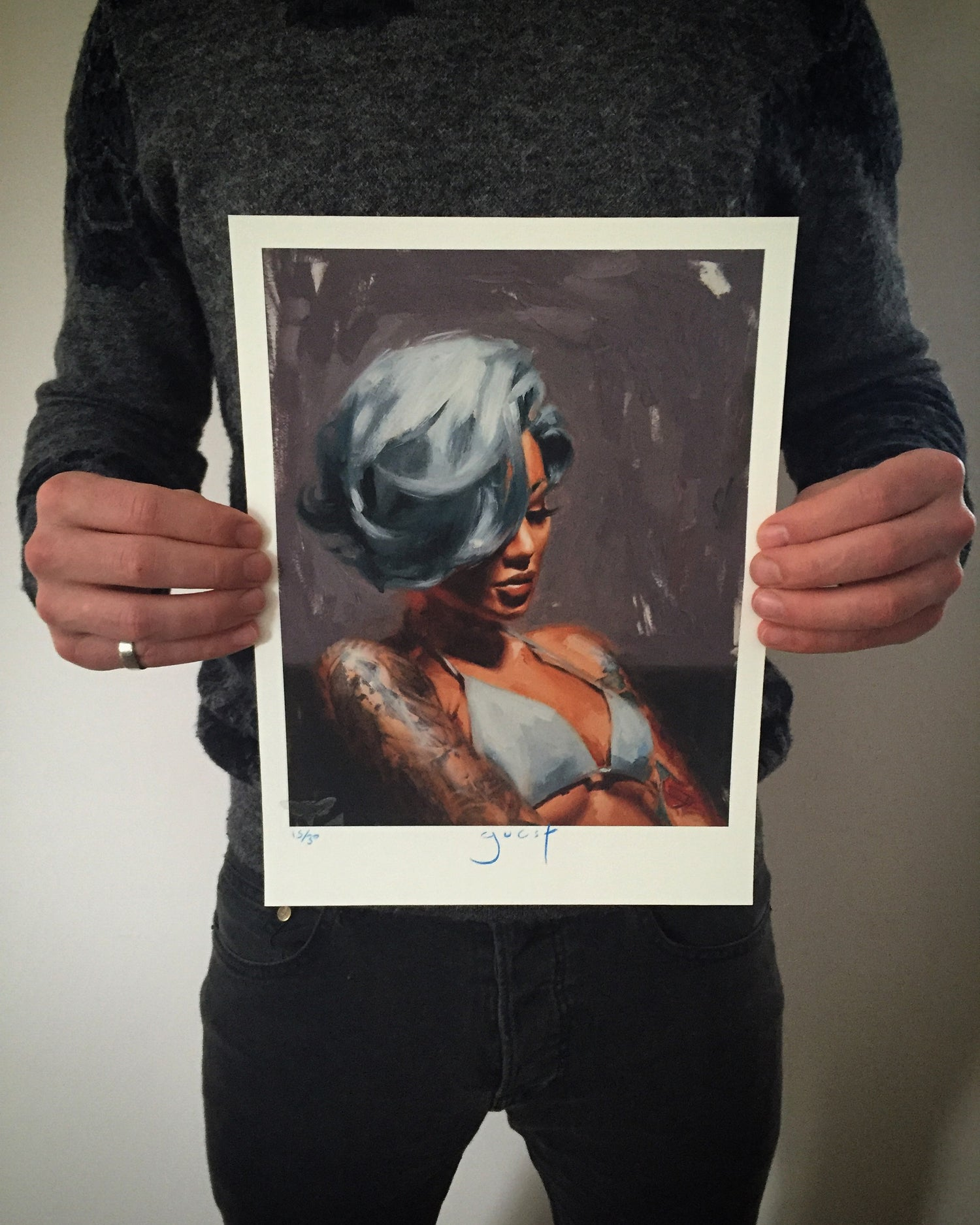 Image of Limited Edition 'Becky' Print