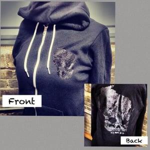 Black-on-Black Hoodie (Unisex)