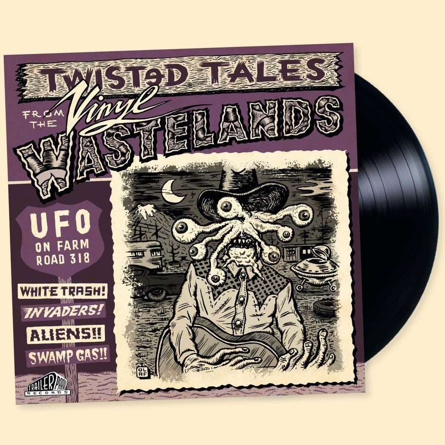 Image of UFO On Farm Road 318 - Vinyl LP
