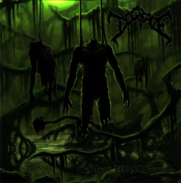 Image of Degrade - Lost Torso Found - CD