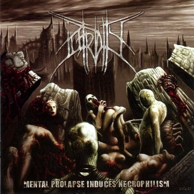 Image of Putridity - Mental Prolapse Induces Necrophilism - CD