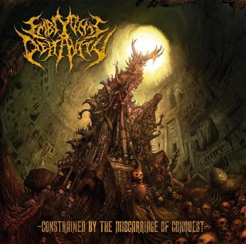 Image of Embryonic Depravity - Constrained By The Miscarriage Of Conquest - CD