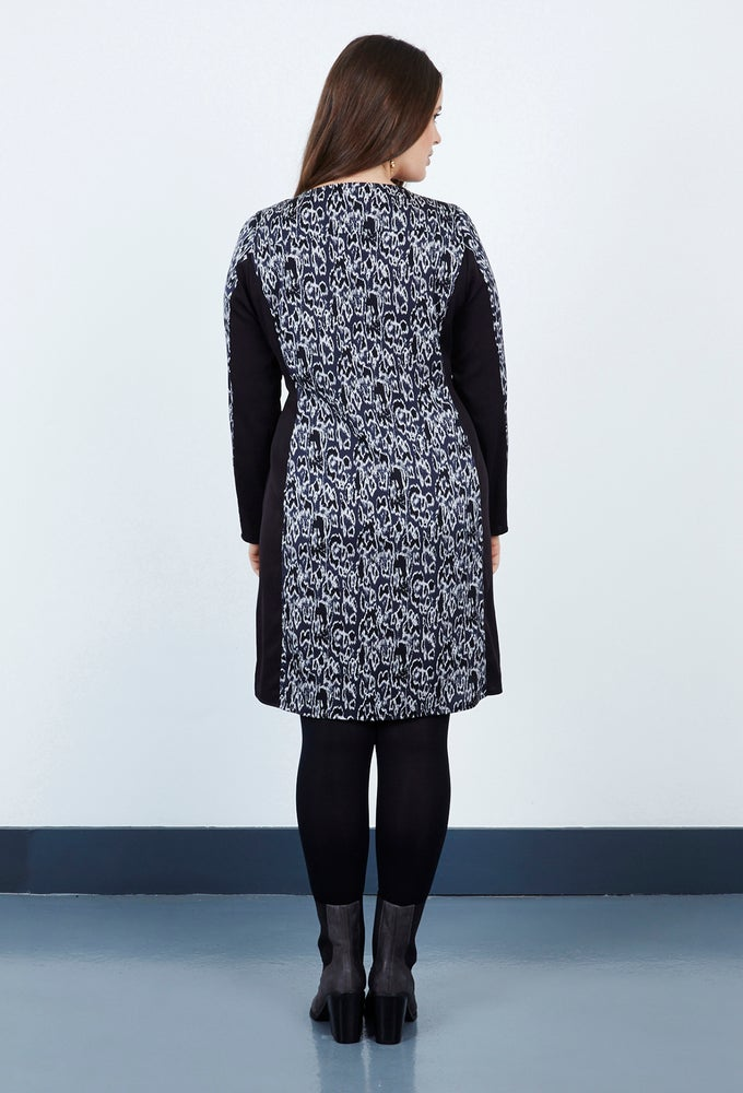 Image of Anna Scholz Double Silk Panel Tunic