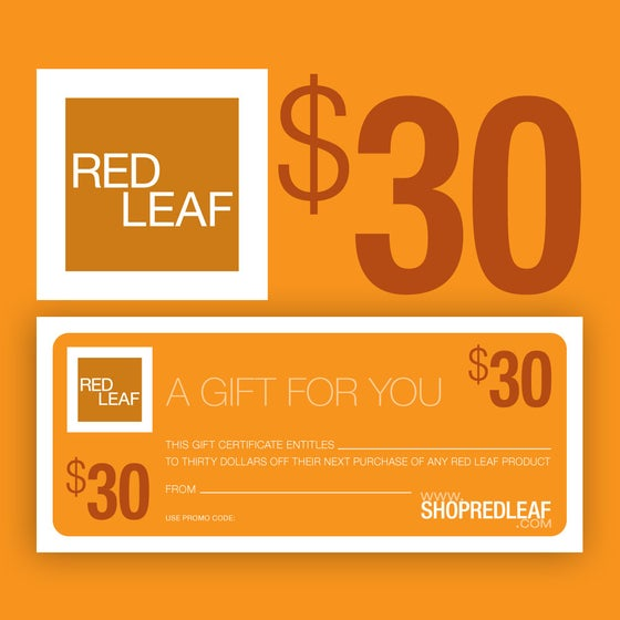 Image of Gift Certificate For Any Bath and Body Products By Red Leaf