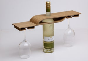 Image of Wine and glass rack