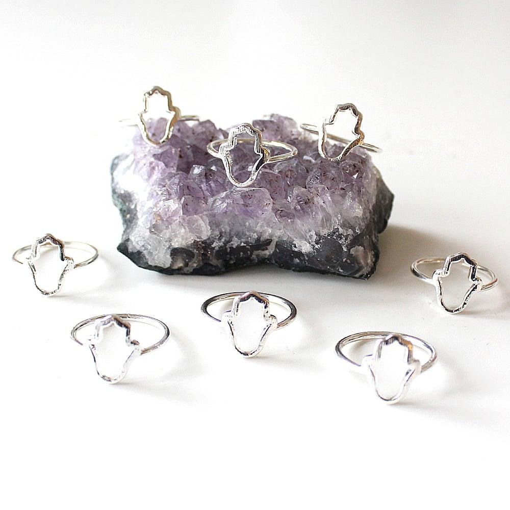 Image of Hamsa Cut Out Ring