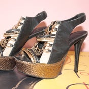Image of Topshop Luxie Metal Chain Shoes- 37