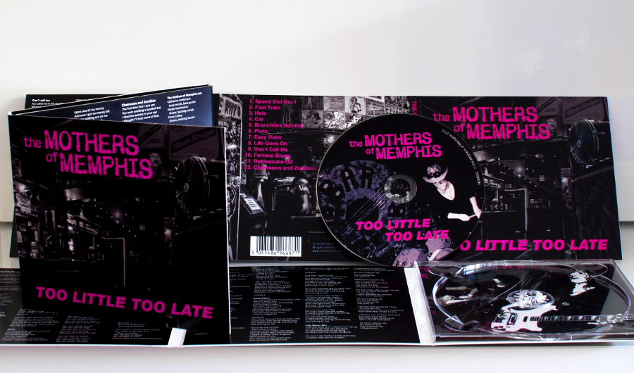 Image of Too Little Too Late - Limited Edition CD