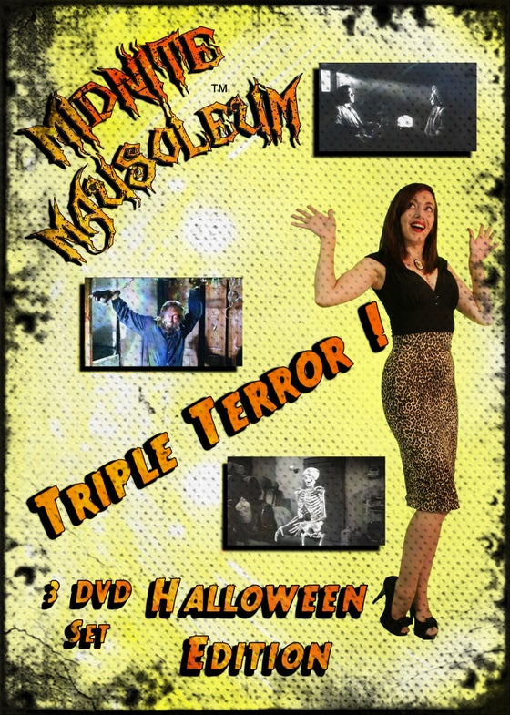 Image of Midnite Mausoleum Triple Terror Halloween 2015 DVD