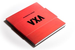 "Image of ""VXA"" Zine 