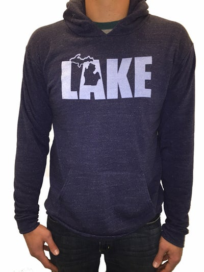Image of MI LAKE Unisex Hooded Sweatshirt