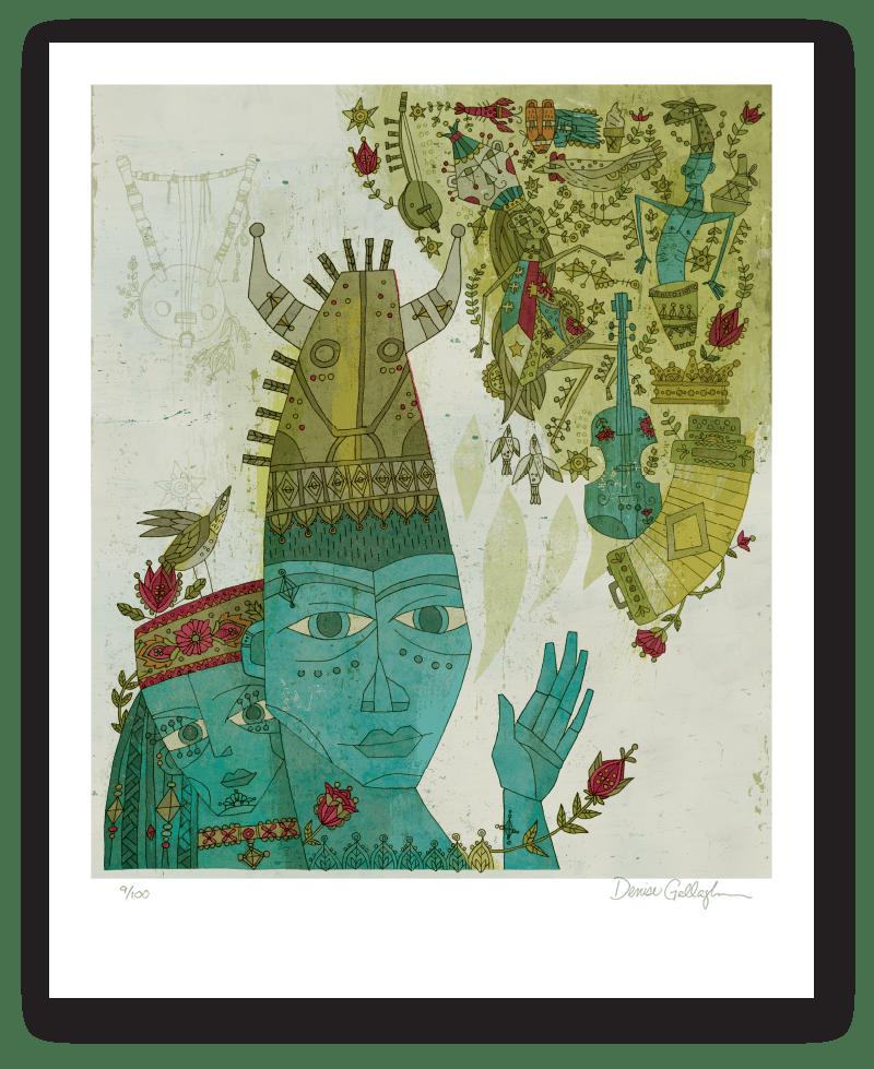 Image of 2016 Festival International de Louisiane Artwork