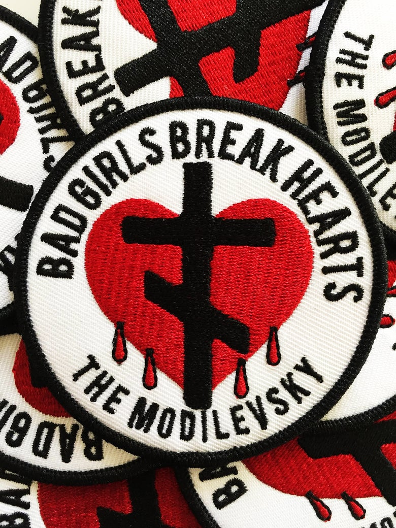 Image of Bad Girls Break Hearts Patch