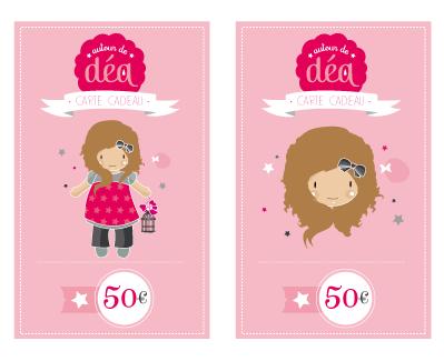 Image of Carte cadeau 50