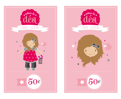 Image of Carte cadeau 50