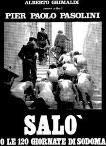 Image of SALO or 120 Days of Sodom (1975) T-shirt