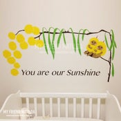 Image of Snuggle Pot and Cuddle Pie Wattle Babies Wall Decals