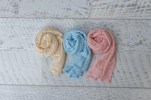 Image of Organic Linen Blend Wraps- The Colours Bundle