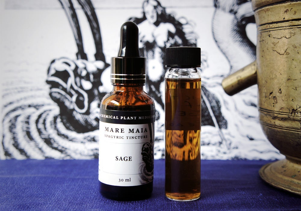 Image of SAGE spagyric tincture - alchemically enhanced plant extraction