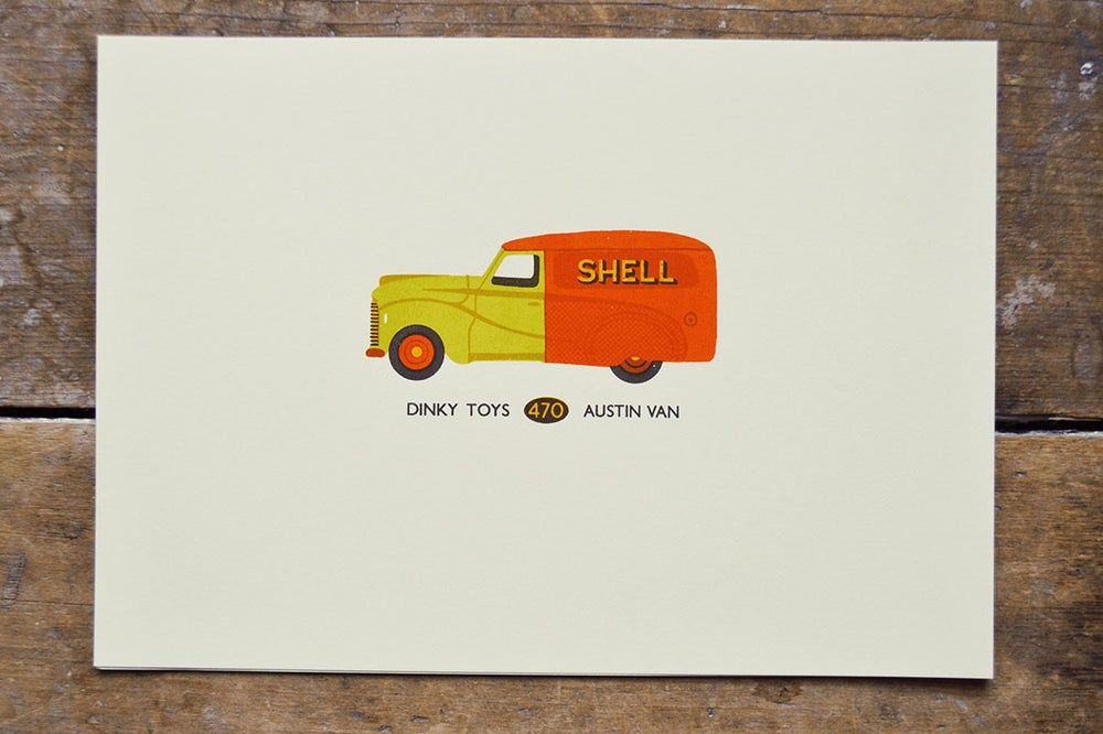 Image of Dinky Toys Shell Van
