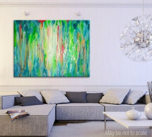 Image of Lily pond - 90x120cm