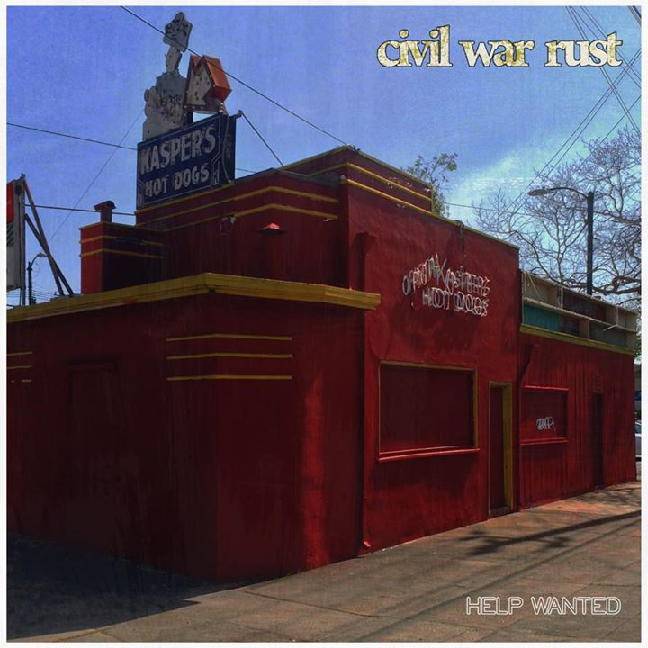 "Image of Civil War Rust ""Help Wanted"" CD"