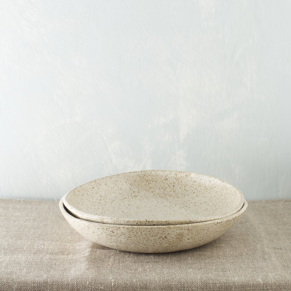 Image of Satin White bowls