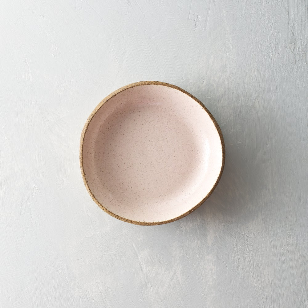 Image of Pale blush speckled bowls