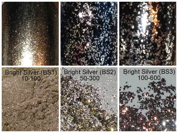 Image of Silver Flake & Gold Pigments </p> 7 Choices Available