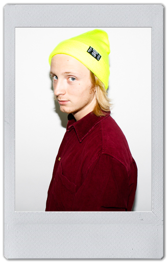 Image of YELLOW NEON BEANIE