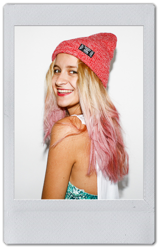 Image of RED HEATHER BEANIE