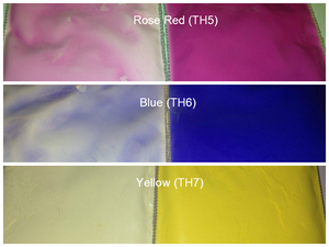 Image of Thermal Pigments/Color to Colorless <p> (5 gr.) </p> 11 Colors Available