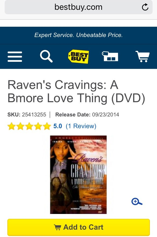 Image of Raven's Cravings: A Bmore Love Thing