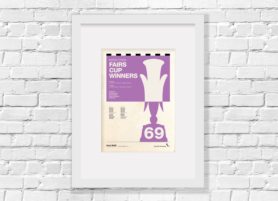 Image of HISTORY PRINT - FAIRS CUP 1969