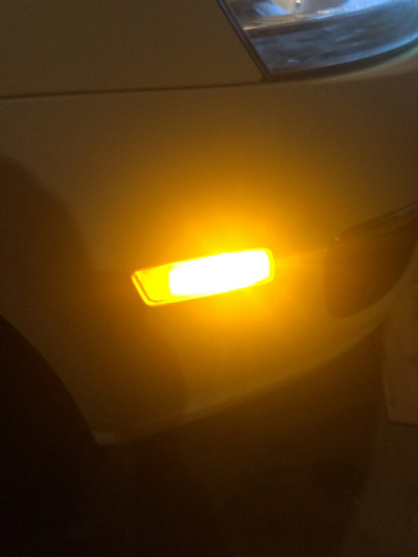 Image of Sidemarker LED Set (Pure White) fits: MK6 / MK5 /MK4 VW GTi / Jetta