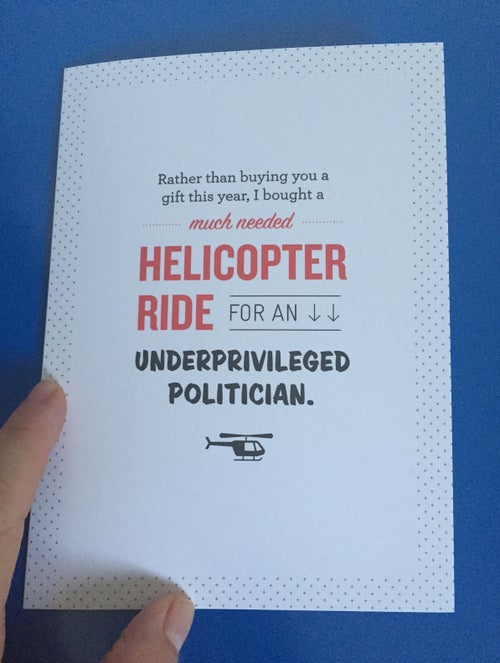 Image of Political Gift Cards - 3 Pack