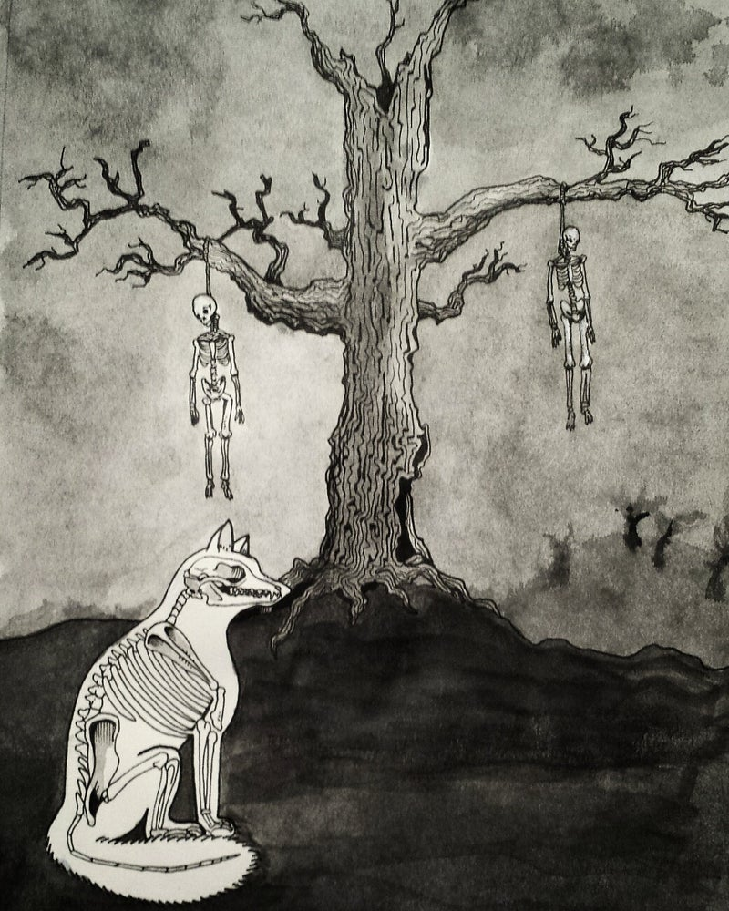 "Image of ""Fox At The Hanging Tree"" Print"