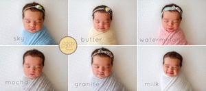 Image of Organic Linen Blend Wraps - The WHOLE BUNDLE
