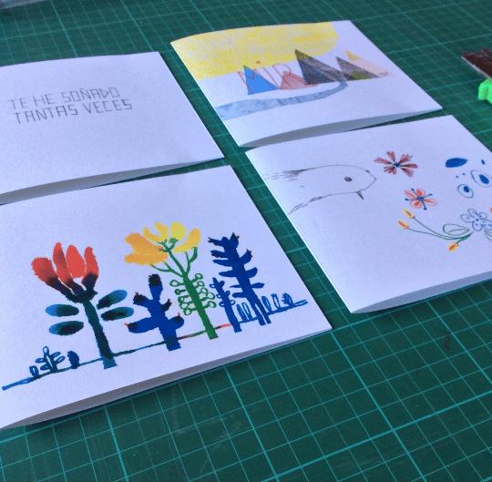 Image of Pack: 4 tarjetas ilustradas (II)