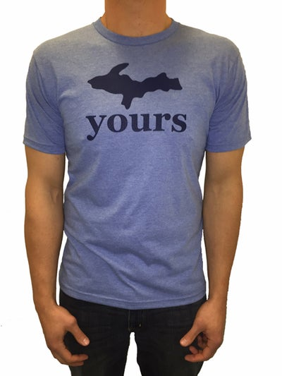 Image of U.P. Yours Unisex Tee