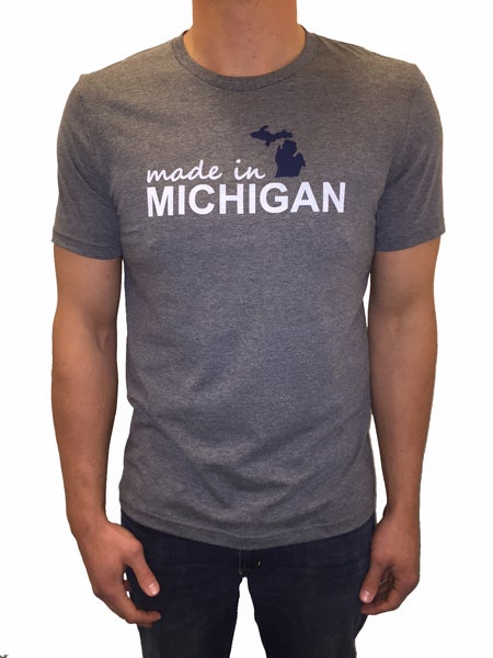 Image of Made In Michigan Unisex Tee