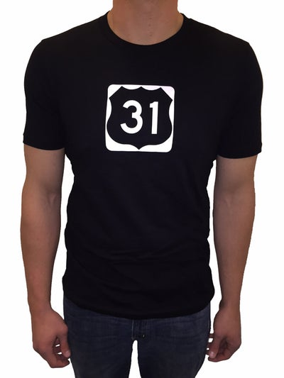 Image of Michigan US-31 Unisex Tee