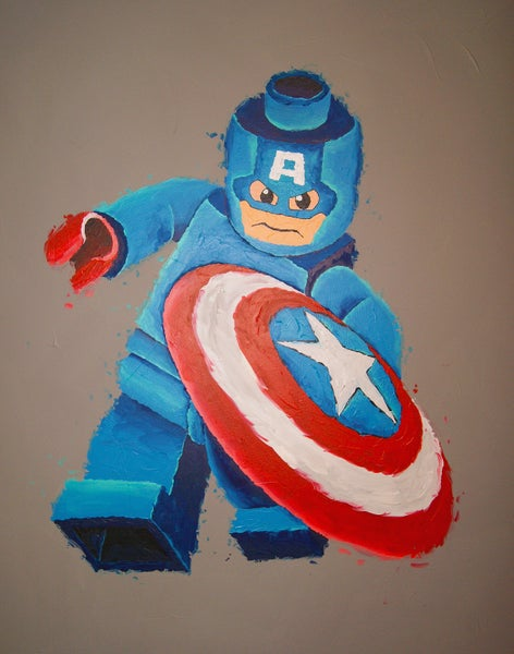 Image of CAPTAIN AMERICA (Limited Edition Print)