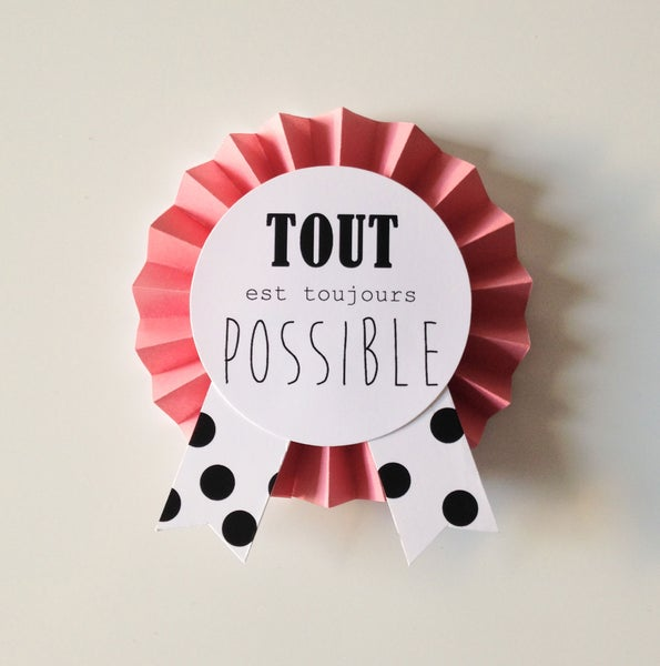 Image of TOUT est possible