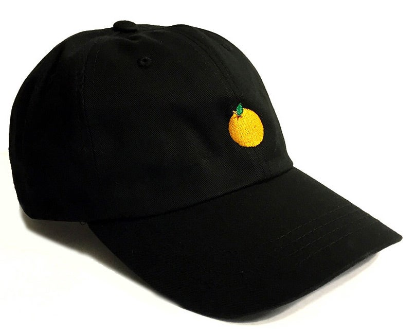 Image of Juicy Dad Hat (Black)