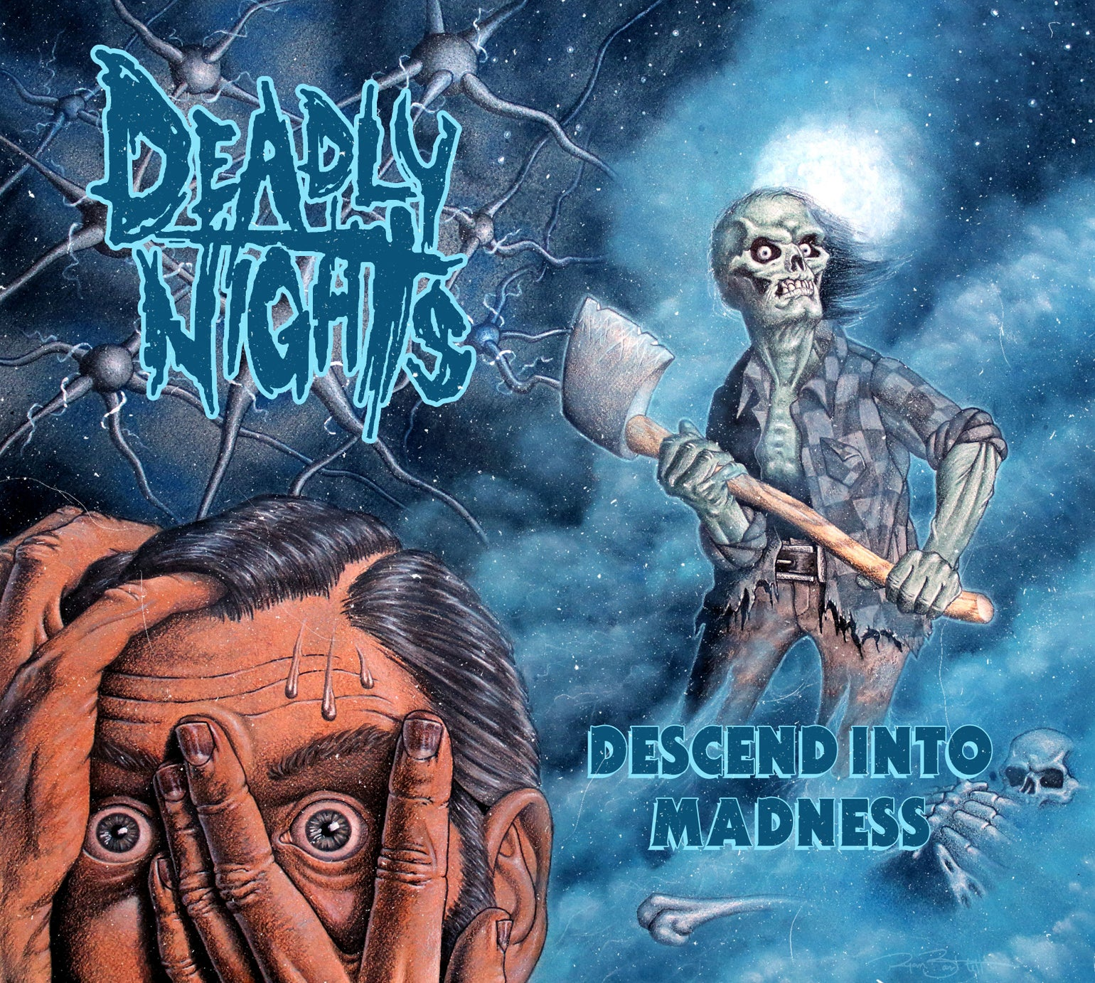 Image of Descend Into Madness Full Length Album