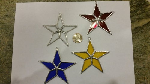 Image of Mini Star-stained glass
