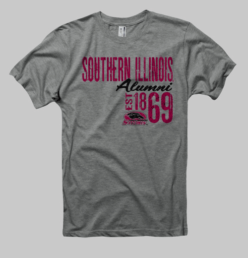 Image of Southern Illinois Neptune Alumni Tee - Heather Grey