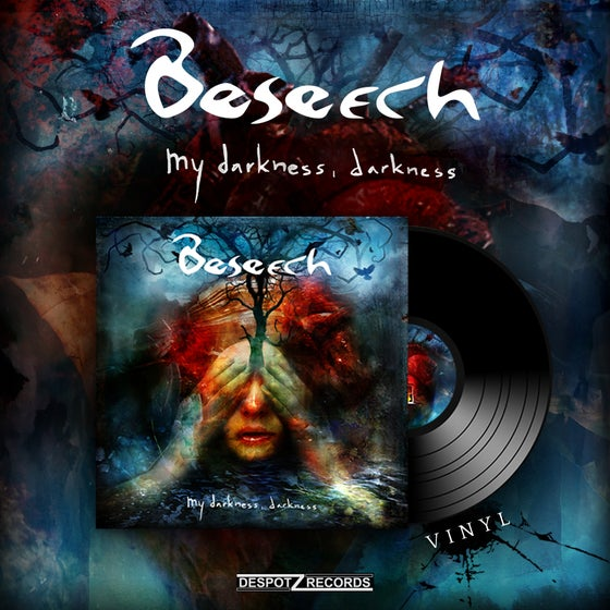 Image of Beseech - My Darkness, Darkness (LP)